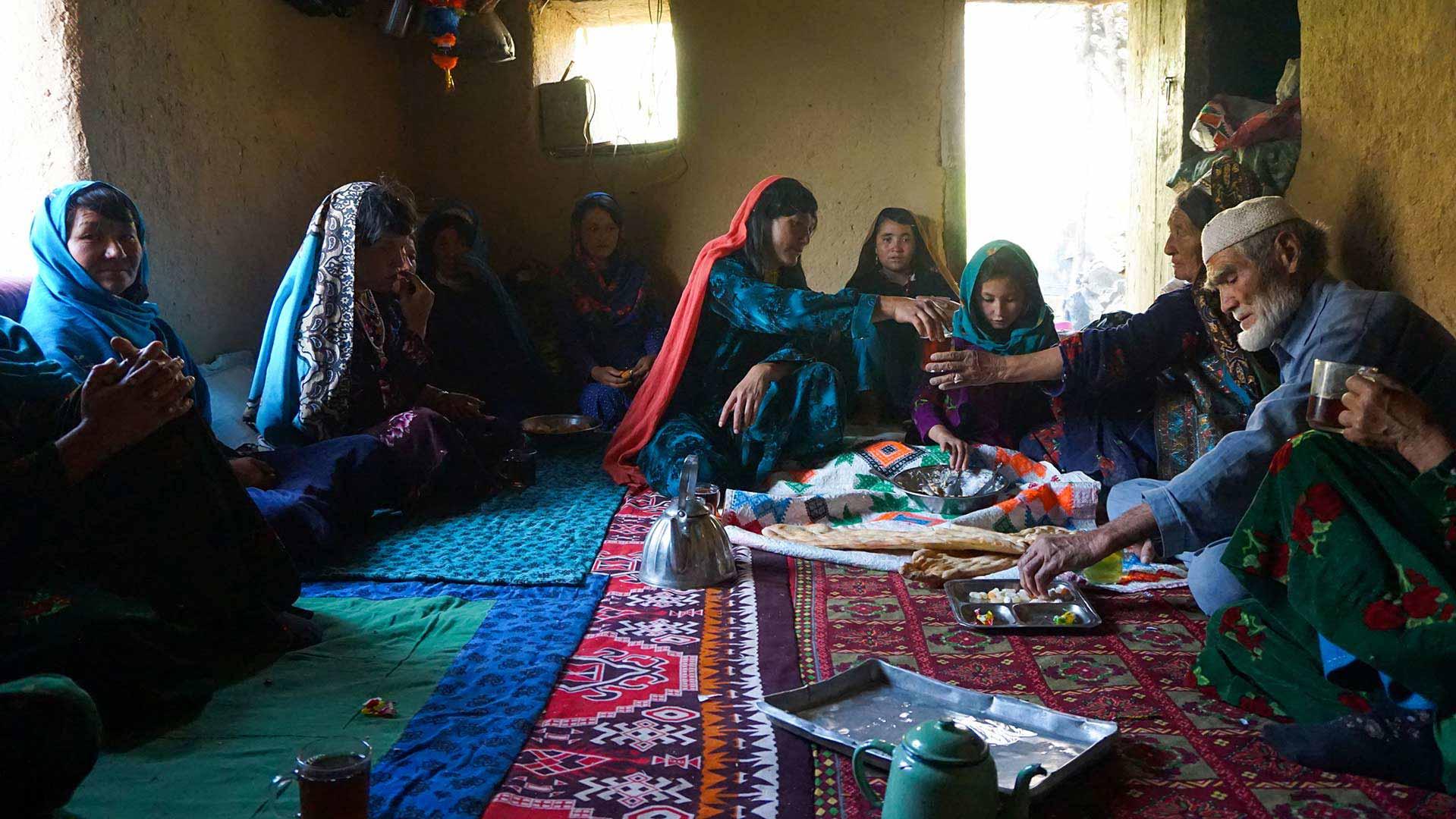 روستای داله در دایکندی افغانستان
