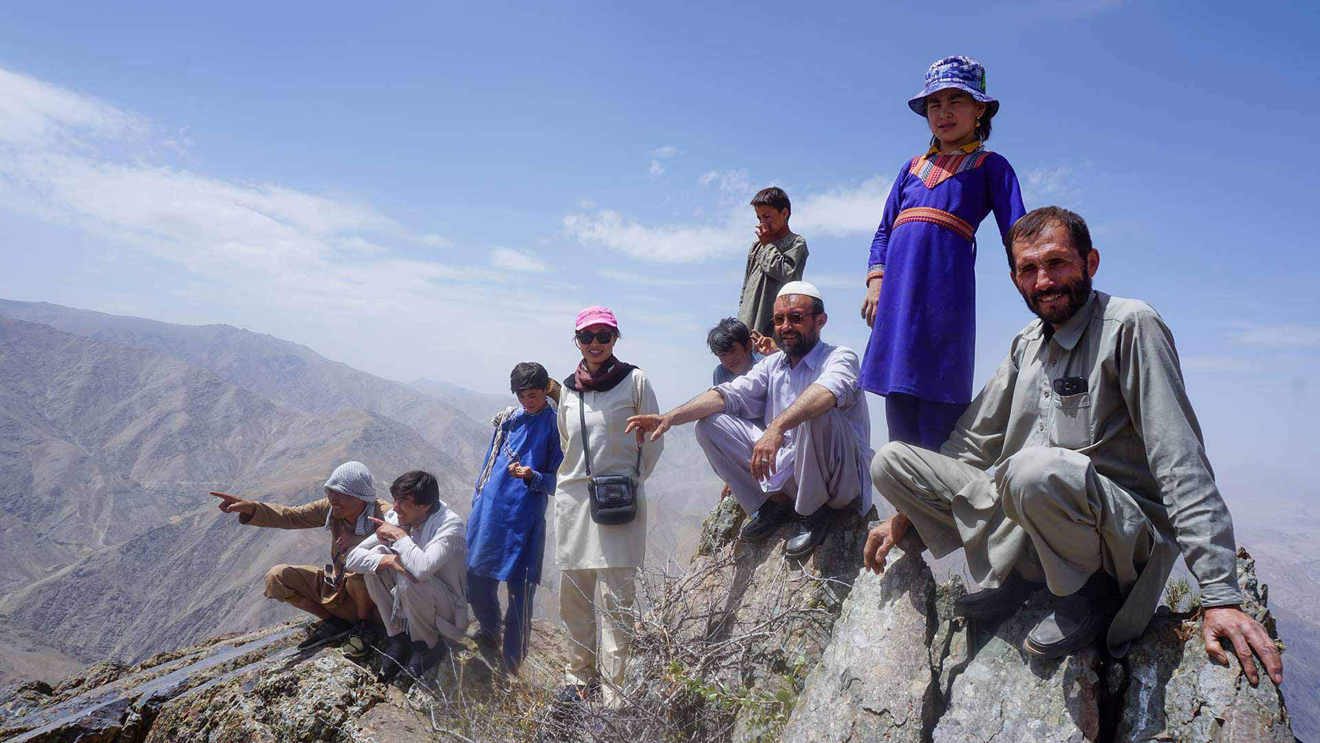 کوهنوردی در افغانستان دایکندی